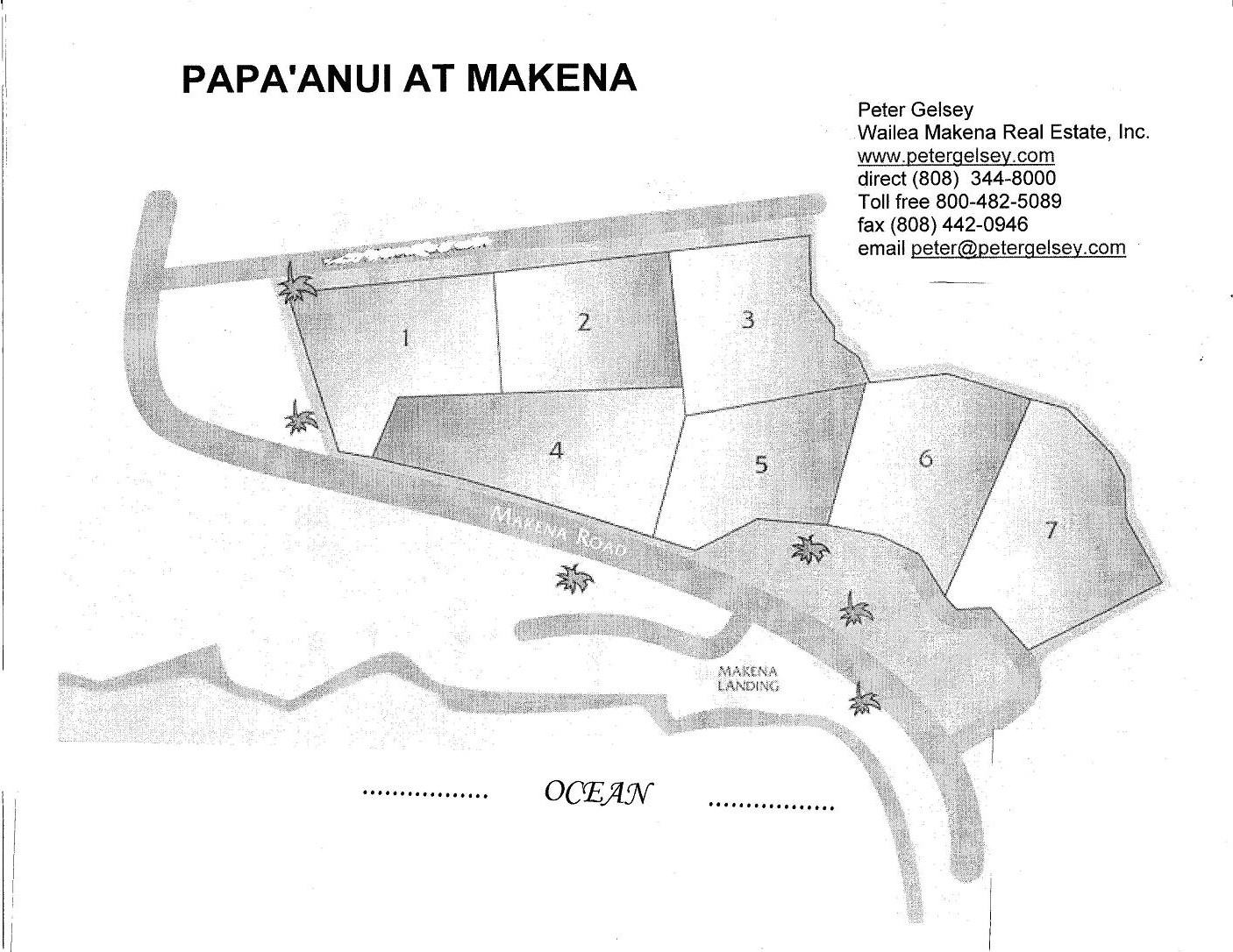 links wailea makena real estate inc papanui site map project layout site plan