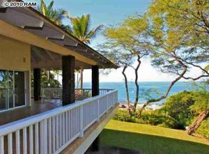 Makena beachfront house